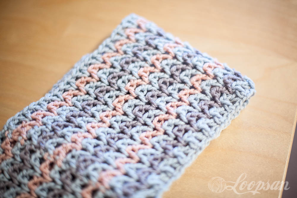 Dishcloth Infinity Scarf
