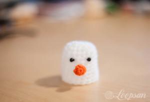 Snowman Egg Cozy