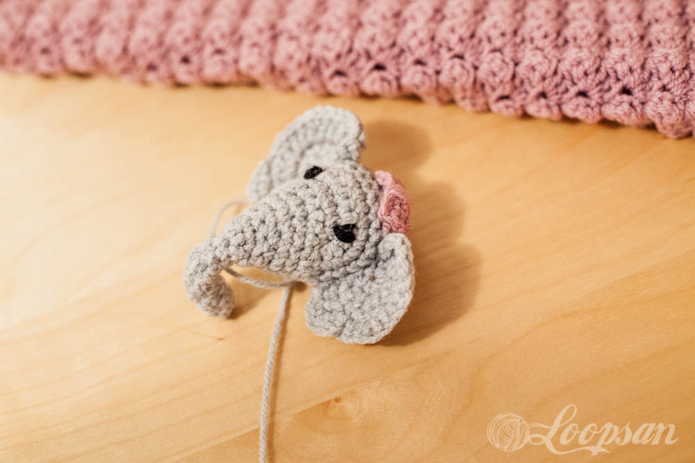 Elephant with Bow