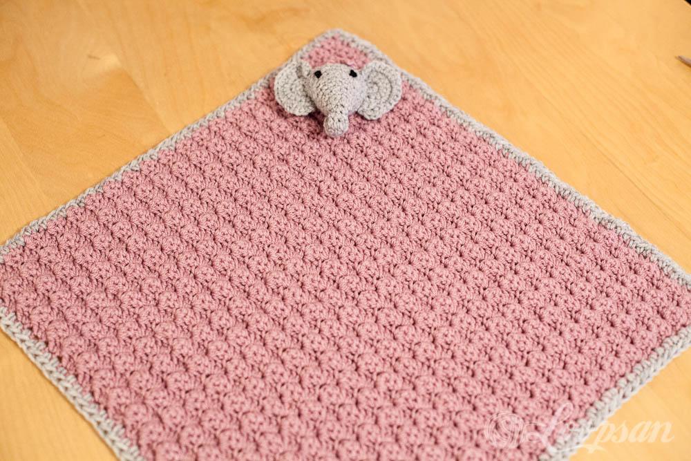 Elephant on Blanket
