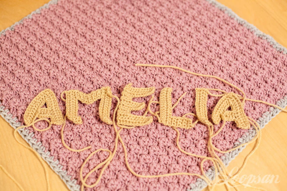 Crocheting Letters Into A Hat : Crochet Blanket With Letters Letters ? Blanket