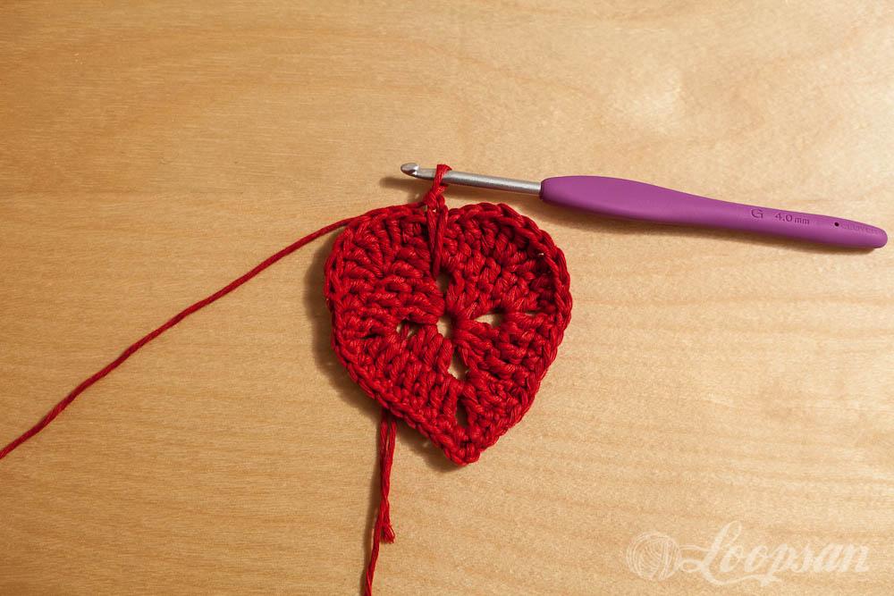 Slip stitch Round 4