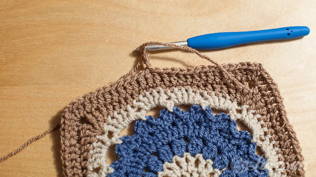 standing double crochet
