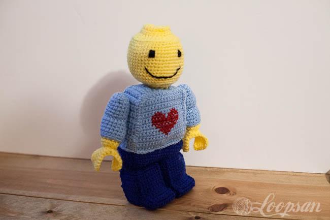 Crochet Legoman