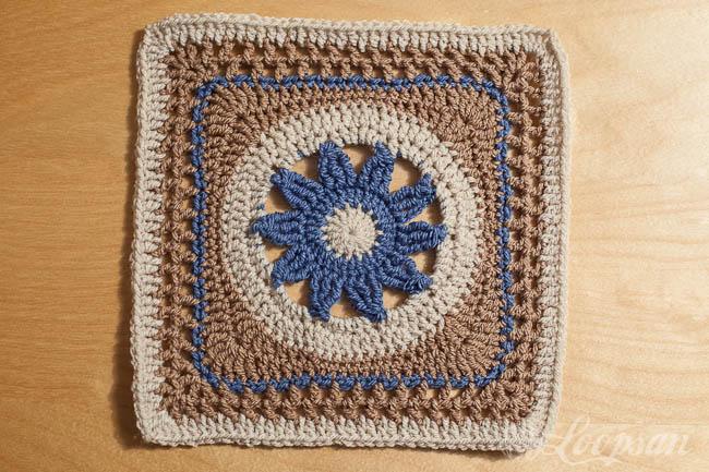 CAL square week 6 Blooming Lace by Melinda Miller