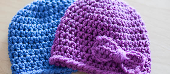 Crochet Baby Twin Hat