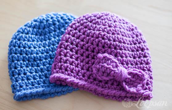 Crochet Baby Twin Hat