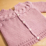 Cabled Yoke Cardigan