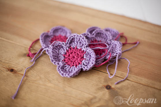 Crochet Flower Ball (Amish Puzzle Ball)