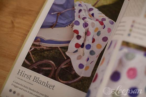 Dotty Blanket in Inside Crochet 63