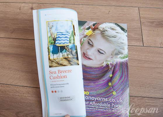 Sea breeze cushion in Inside Crochet 66
