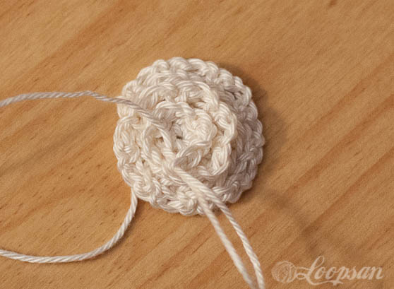 No sew rose headband by Loopsan