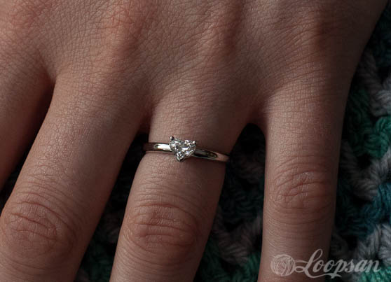 My lovely engagement ring - Loopsan