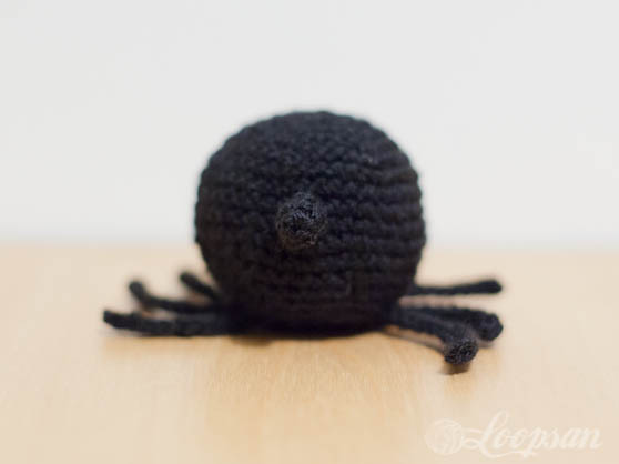 Scotty- The Crochet Spider