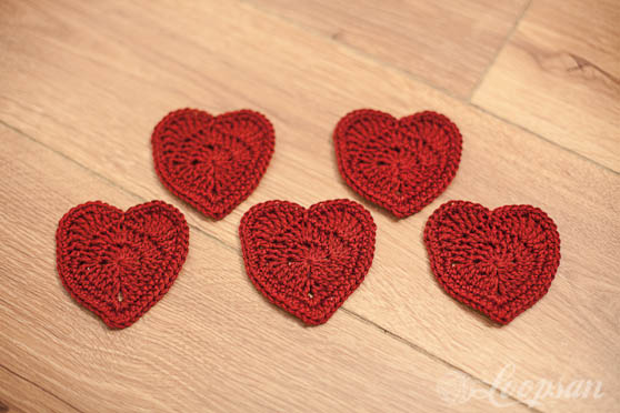 Red Heart – Free Pattern