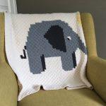 Ellen the Elephant Blanket