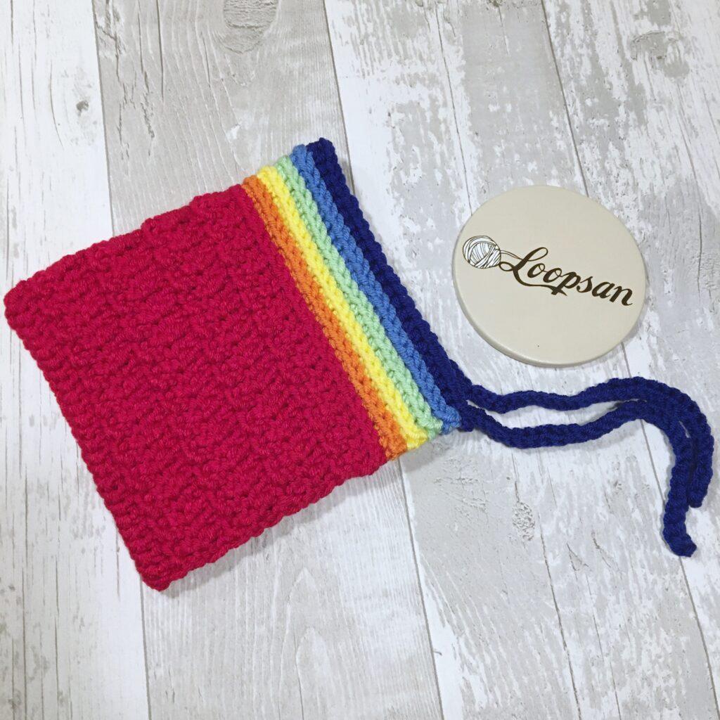 Chunky Rainbow Bonnet