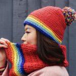 Snood and Hat Set Inside Crochet